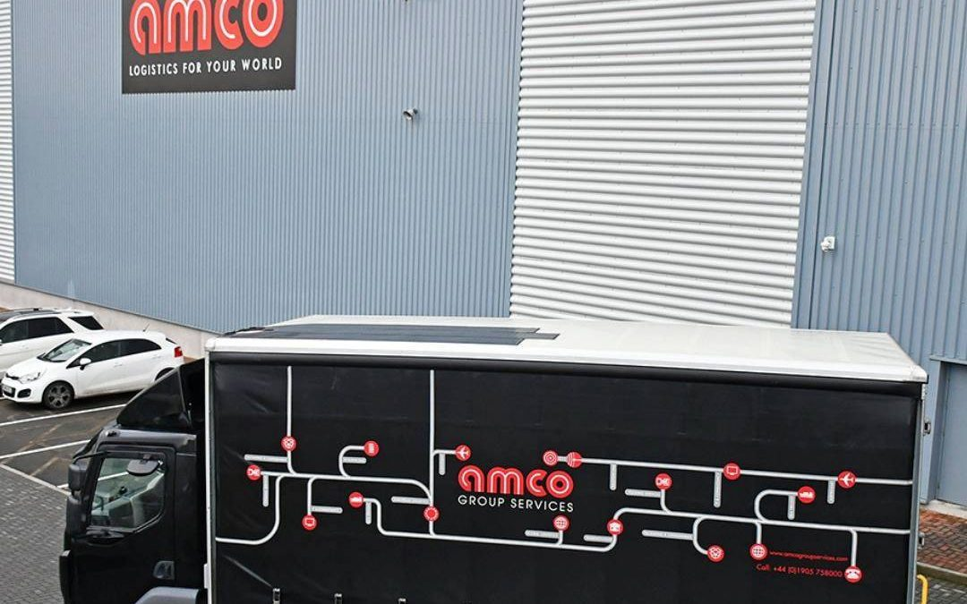 Amco Delivery Lorry And Production Warehouse